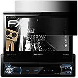 Pioneer AVH-X7500BT Film de protection confidentiel - atFoliX FX-Undercover Vie privée à 4 voies Filtre de confidentialité