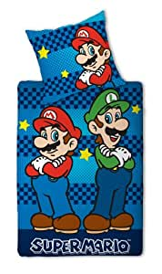 nintendo bettw sche super mario bros games. Black Bedroom Furniture Sets. Home Design Ideas