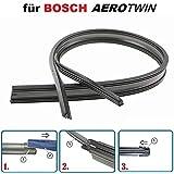 2x 80cm Scheibenwischer Wischgummi für Aerotwin VW TOURAN T5 CADDY UP T4 BEETLE
