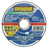 DISCO ABRASIVO INOX 115x0.8 f.22.2 GRINDING