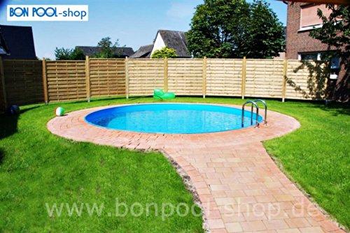 Bon Pool Rundbecken 4m Ø 1,20m Tief mit Hochbeckenleiter