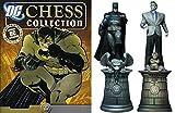 DC Comics - Figuras de Ajedrez de Resina DC Comics Chess Collection Especial Batman & Joker