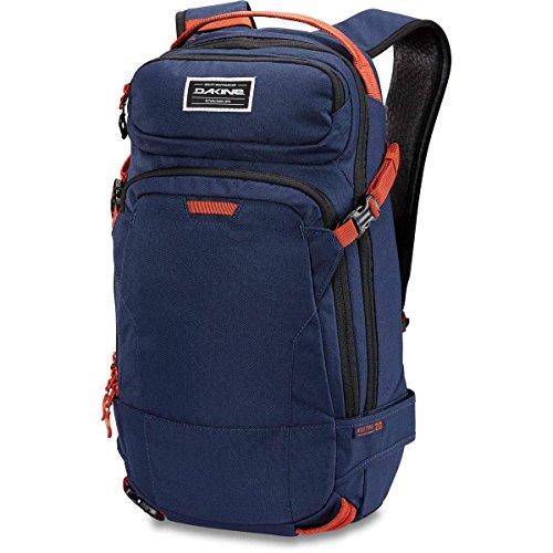 "DAKINE Heli Pro 20L Polyester Black,Bordeaux backpack - backpacks (Polyester, Black, Bordeaux, Monotone, 600 D, Unisex, 38.1 cm (15"")) Navy, Orange"