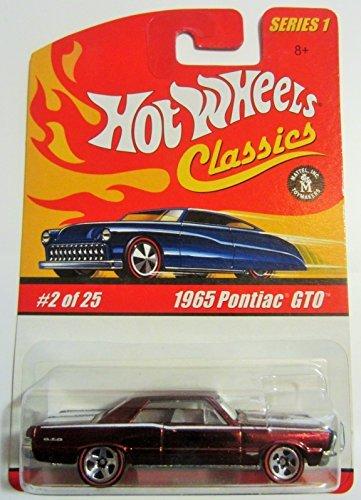1965-pontiac-gto-hot-wheels-classics-series-1-burgundy-2-of-25-by-hot-wheels