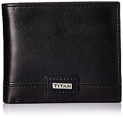 Titan Black Mens Wallet (TW159L)