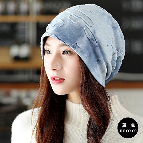 Koreanischer Mode Bohrung gesetzt drucken Kopf All-Match Freizeitaktivitäten im Herbst und Winter...