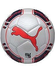 PUMA Fußball EVO Power 3 Tournament - Balón de fútbol sala, color blanco, talla 4