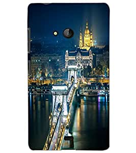 MICROSOFT LUMIA 540 CITY VIEW Back Cover by PRINTSWAG