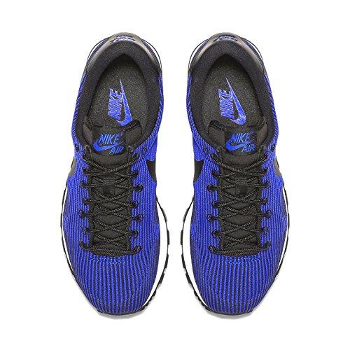 Nike W Air Pegasus '83 Kjcrd, Scarpe Sportive Donna Nero/blu (Black/Racer Blue)