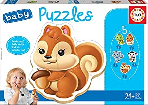 Educa Borrás- Dibujos Animados y cómic Baby Puzzle, Color Variado (13473)