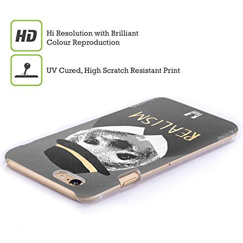 Head Case Designs Waschbär Super Posh Ruckseite Hülle für Apple iPhone 6 Plus / 6s Plus Faultier