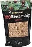 BBQ Räucherchips KIRSCHE - fruchtiges Raucharoma für alle Fleischsorten - ideal für den Einsatz im Smoker & Grill - Wood-Chips für die Räucherbox - Räucherspäne