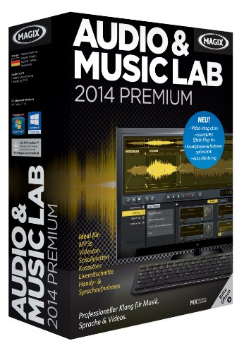 MAGIX Audio & Music Lab 2014 Premium