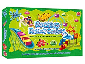 Madrat Games Rocking Roller Coaster, Multi Color