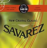 Savarez 540CR Normal Tension Strings for Classical Guitar New Cristal Classic Red