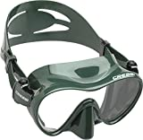 Cressi F1 Scuba and Snorkeling Frameless Mask - Green