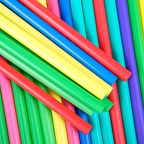 Jumbo Flexi pailles de couleurs vives-Idéal pour l'été 50