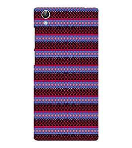 EPICCASE spiral diamonds Mobile Back Case Cover For Vivo Y51 (Designer Case)