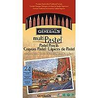 General Pencil, MultiPastel 24 kg, colori assortiti