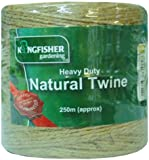Kingfisher HDNT250 250 Meter Heavy Duty Natural Garden Twine