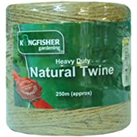 TWINE, HEAVY DUTY NATURAL, 250M HDNT250 By