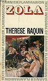 Therese raquin - Garnier-Flammarion