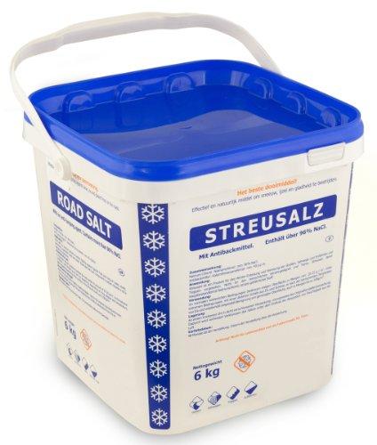 Preisvergleich Produktbild Streusalz im 6 kg Eimer 96% NaCl