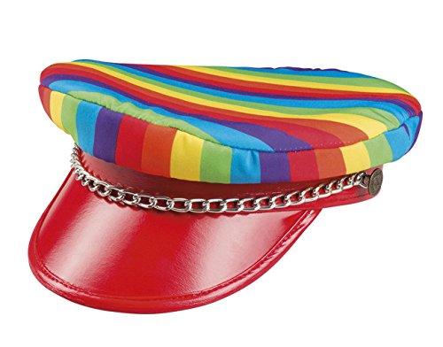Boland 44724 Mütze Regenbogen Rocker unisex-adult One Size