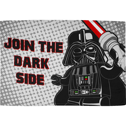 Gigglewinks ufficiale lego star wars darth vader coperta in pile