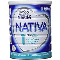 NESTLÉ NATIVA 1 - Desde el primer día - Leche para lactantes en polvo - Fórmula para bebés - 800 g