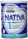 NESTLÉ NATIVA 1 - Desde el primer día - Leche para lactantes en polvo - Fórmula para bebés - 800g