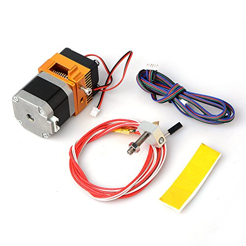 Doolland 12 V 40 W MK8 Kopf J-Head Hotend für Makerbot Prusa i3 3D-Drucker Teile mit Motor Düse Halbröhre