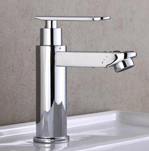 Armaturen im Badezimmer einzigen Kaltwasserhahn Waschtischmischer mit niedriger Taille kurz sinkt - Niedrige Taille Kurze