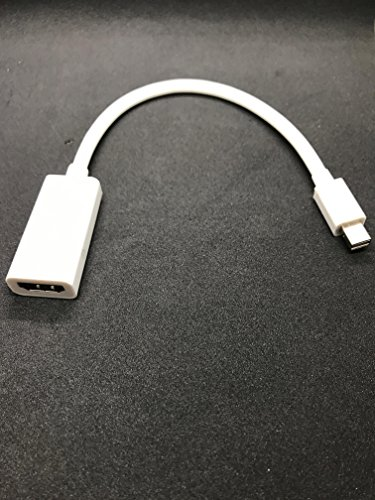 Cavo Adattatore Mini DisplayPort a HDMI Compatibile con Apple Unibody MacBook PRO/MacBook Air/iMac/Mini DisplayPort, Supporti Audio, Video e Nuova Porta Thunderbolt (Non Funziona con iPhone e iPad)
