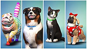 The Sims 4 Cats and Dogs (PC DVD)