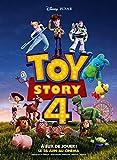 Affiche Cinéma Préventive Grand Format - Toy Story 4 (Format 120 x 160 cm pliée) Année 2019