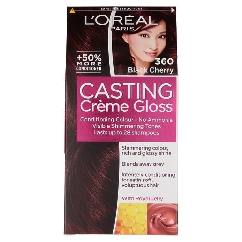 L'oreal Paris Casting Creme Gloss Hair Colourant 360 Black Cherry by L'Oreal Paris