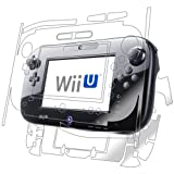 Nintendo Wii-U GamePad Screen Protector, IQ Shield® LiQuidSkin Full Body Skin + Full Coverage Screen Protector for Nintendo Wii-U GamePad HD Clear Anti-Bubble Film - with Lifetime Warranty by IQShield
