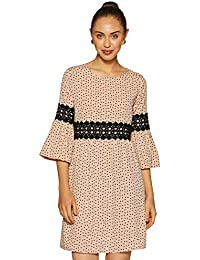 KRAVE Synthetic Empire Dress