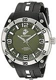 Wrist Armor Men's 37100019 U. S. Marine Corps Stainless Steel Watch