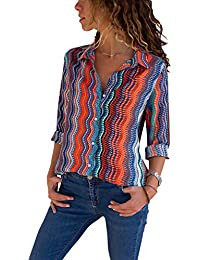 3de9383072 Amazon.it: 36 - Bluse e camicie / T-shirt, top e bluse: Abbigliamento