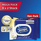 Tempo Sanft und Pflegend feuchtes Toilettenpapier Riesenpackung (16 Packungen x je 42 Tücher)