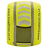 Time to Run High Visibility Reflective Waterproof Rucksack Cover With Scotchlite 3M