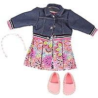 Gotz 3402842 Standing Doll Combo Pop Art - Size XL - Dolls Clothing / Accessory Set - Suitable For Standing Dolls Size XL (45 - 50 cm)