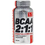 Nutrend BCAA 2:1:1 Ratio 150 Tabs 1000 mg per tablet essential branched-chain amino acids L-leucine, L-isoleucine and L-valine (BCAA)