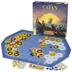 Catan Devir, expansión piratas y exploradores, juego de mesa.