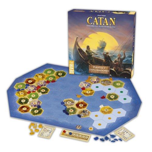 Devir- Catan-Piratas y Exploradores Juego de Mesa