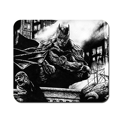 kmltail Batman Design Speed Mouse Mat for HP Dell Lenova iball Dragonwar Red Dragon Logitech ibuypower Zebronics Printed Photo Scene Natural Rubber Gaming Mouse Pad Non Slip base-Kmltail  available at amazon for Rs.159