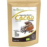 Polvo de Cacao Orgánico (500 gramos) | MySuperFoods | Delicioso y bueno para usted | Rico en micronutrientes | Orgánico certificado | Antigua comida de salud maya | Ideal para dulces y golosinas