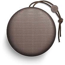 B&O PLAY by Bang & Olufsen BeoPlay A1 Bluetooth Lautsprecher (Wetterfest) deep red